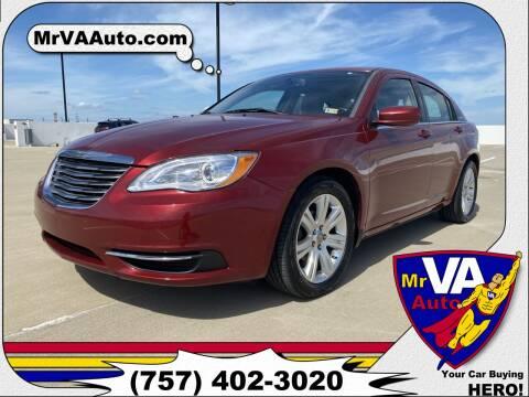 2012 Chrysler 200 for sale at Mr VA Auto in Chesapeake VA