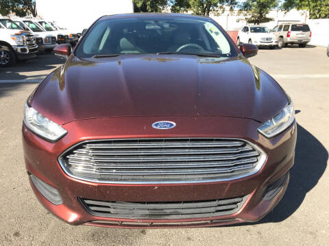 2015 Ford Fusion for sale at EXPRESS CREDIT MOTORS in San Jose CA
