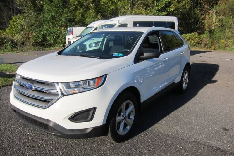 2015 Ford Edge for sale at K & R Auto Sales,Inc in Quakertown PA