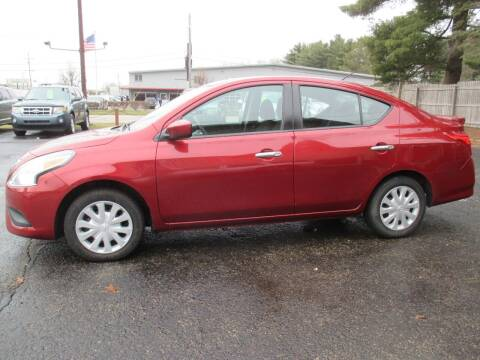 2018 Nissan Versa for sale at Home Street Auto Sales in Mishawaka IN