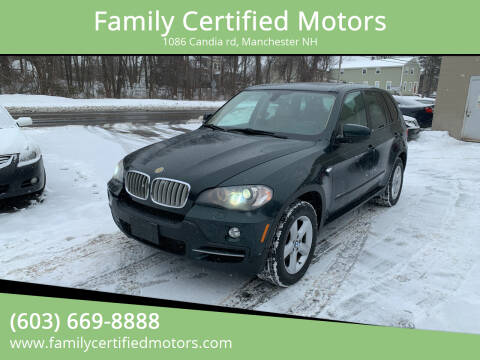 2010 BMW X5 for sale at Family Certified Motors in Manchester NH