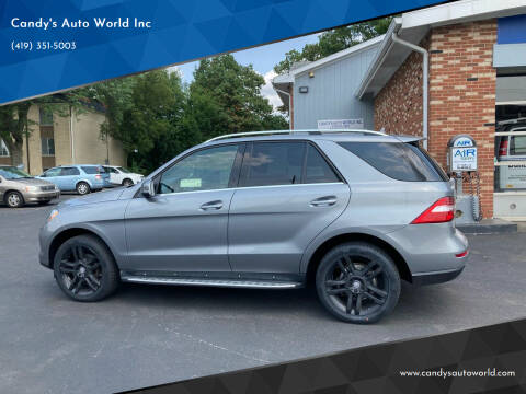 2014 Mercedes-Benz M-Class for sale at Candy's Auto World Inc in Toledo OH