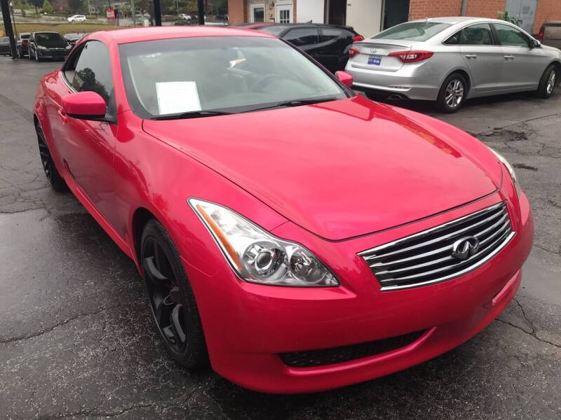 2010 Infiniti G37 Convertible for sale at Magic Motors Inc. in Snellville GA