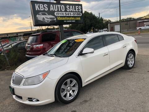 2011 Buick LaCrosse for sale at KBS Auto Sales in Cincinnati OH