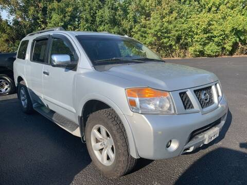 2010 Nissan Armada for sale at Trocci's Auto Sales in West Pittsburg PA
