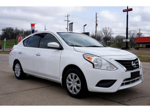 2019 Nissan Versa for sale at Sand Springs Auto Source in Sand Springs OK