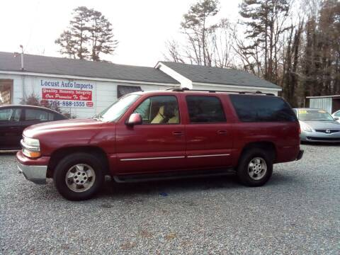 2002 Chevrolet Suburban for sale at Locust Auto Imports in Locust NC