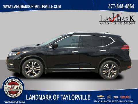 2017 Nissan Rogue for sale at LANDMARK OF TAYLORVILLE in Taylorville IL