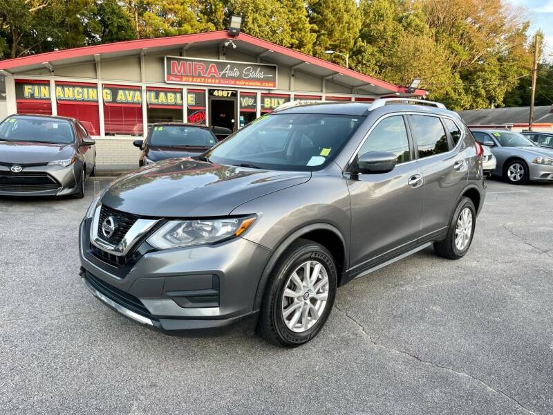 2017 Nissan Rogue for sale at Mira Auto Sales in Raleigh NC