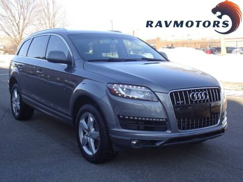 2015 Audi Q7 for sale at RAVMOTORS in Burnsville MN