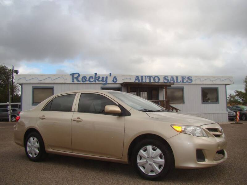 2012 Toyota Corolla for sale at Rocky's Auto Sales in Corpus Christi TX