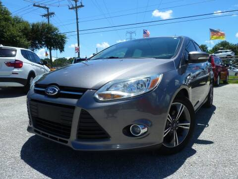 2014 Ford Focus for sale at Das Autohaus Quality Used Cars in Clearwater FL