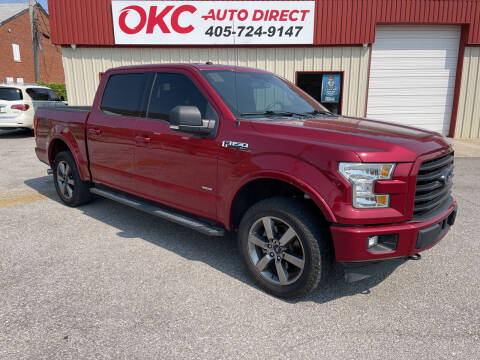 2017 Ford F-150 for sale at OKC Auto Direct, LLC in Oklahoma City OK