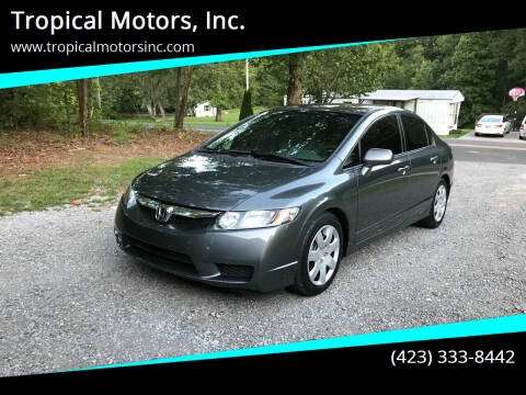 2011 Honda Civic for sale at Tropical Motors, Inc. in Riceville TN