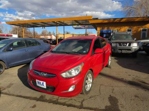 2012 Hyundai Accent for sale at Nile Auto Sales in Denver CO