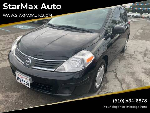 2009 Nissan Versa for sale at StarMax Auto in Fremont CA