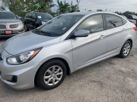 2013 Hyundai Accent for sale at FAIR DEAL AUTO SALES INC in Houston TX