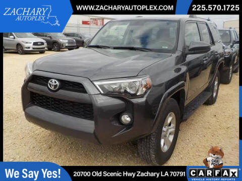 2019 Toyota 4Runner for sale at Auto Group South in Natchez MS