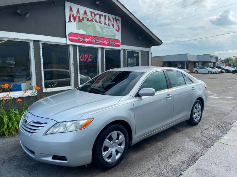 2009 Toyota Camry for sale at Martins Auto Sales in Shelbyville KY