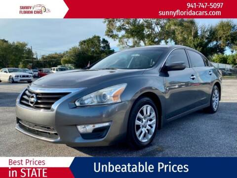 2014 Nissan Altima for sale at Sunny Florida Cars in Bradenton FL