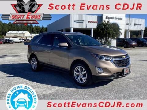 2018 Chevrolet Equinox for sale at SCOTT EVANS CHRYSLER DODGE in Carrollton GA