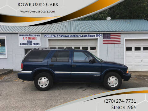 2000 GMC Jimmy for sale at Rowe Used Cars in Beaver Dam KY