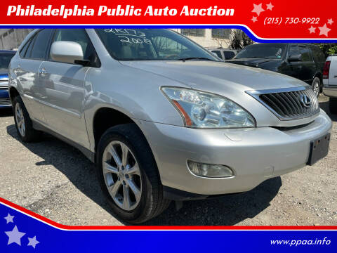 2008 Lexus RX 350 for sale at Philadelphia Public Auto Auction in Philadelphia PA