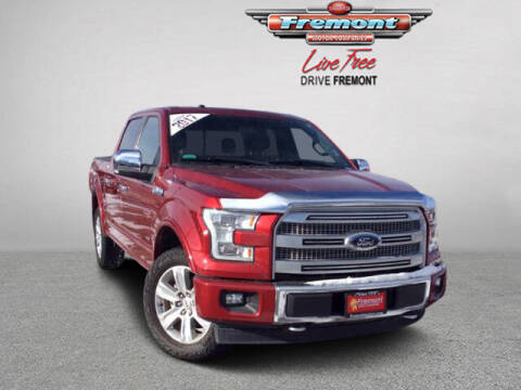 2017 Ford F-150 for sale at Rocky Mountain Commercial Trucks in Casper WY