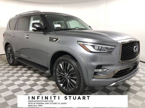 2021 Infiniti QX80 for sale at Infiniti Stuart in Stuart FL