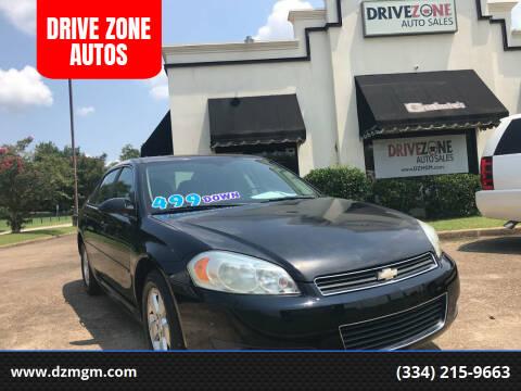 2011 Chevrolet Impala for sale at DRIVE ZONE AUTOS in Montgomery AL