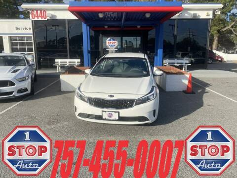 2017 Kia Forte for sale at 1 Stop Auto in Norfolk VA