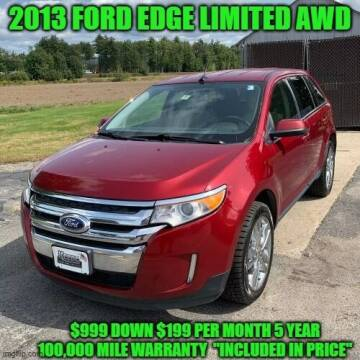 2013 Ford Edge for sale at D&D Auto Sales, LLC in Rowley MA