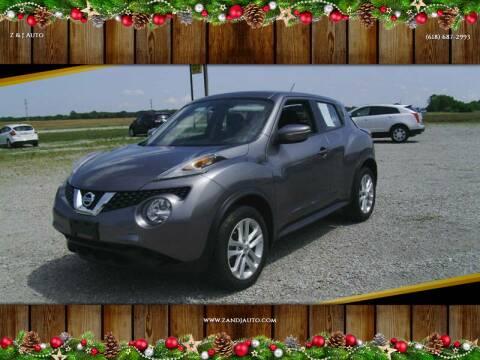 2016 Nissan JUKE for sale at Z & J Auto in Murphysboro IL