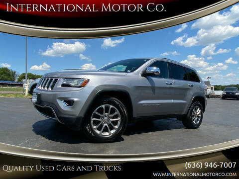 2014 Jeep Grand Cherokee for sale at International Motor Co. in St. Charles MO
