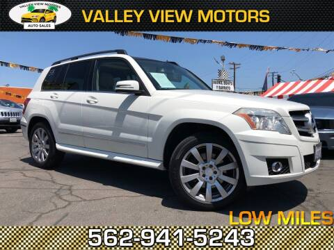 2010 Mercedes-Benz GLK for sale at Valley View Motors in Whittier CA