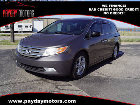 2011 Honda Odyssey for sale at Payday Motors in Wichita And Topeka KS