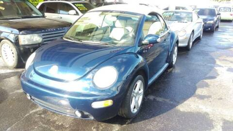 2005 Volkswagen New Beetle Convertible for sale at Tony's Auto Sales in Jacksonville FL