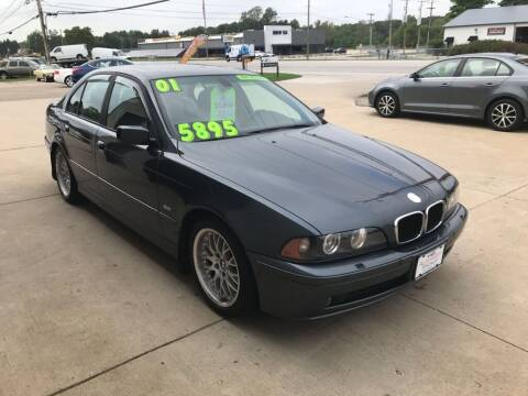 2001 BMW 5 Series for sale at Auto Import Specialist LLC in South Bend IN