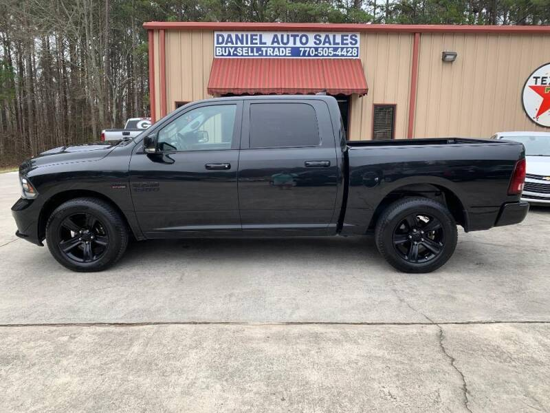 2015 RAM Ram Pickup 1500 for sale at Daniel Used Auto Sales in Dallas GA