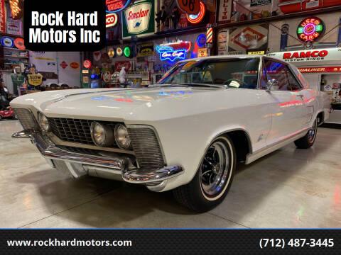 1963 Buick Riviera for sale at Rock Hard Motors Inc in Treynor IA