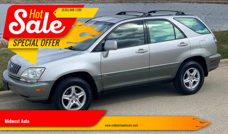 2002 Lexus RX 300 for sale at Midwest Auto in Naperville IL