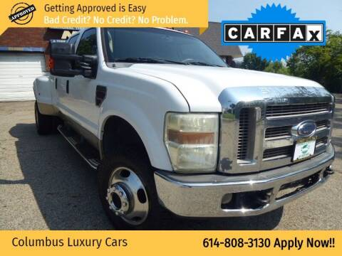 2008 Ford F-350 Super Duty for sale at Columbus Luxury Cars in Columbus OH