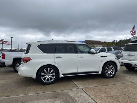 2014 Infiniti QX80 for sale at Direct Auto in D'Iberville MS