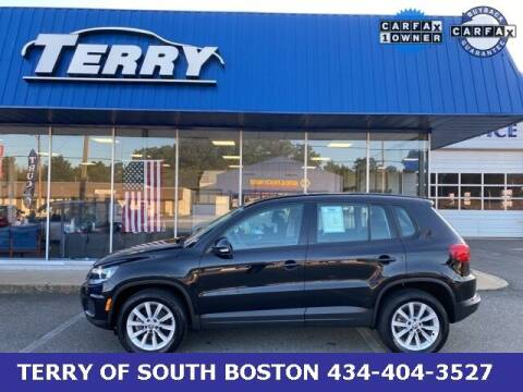 2017 Volkswagen Tiguan for sale at Terry of South Boston in South Boston VA