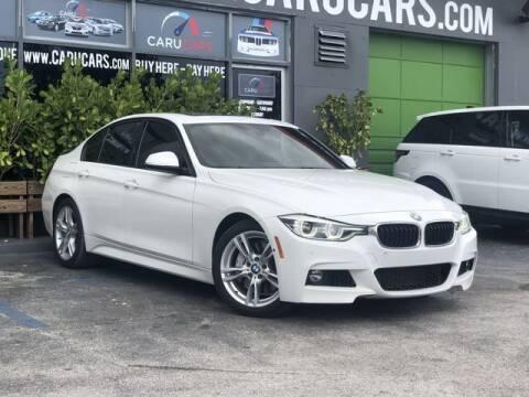 2016 BMW 3 Series for sale at CARUCARS LLC in Miami FL