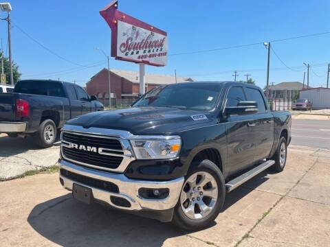 2019 RAM Ram Pickup 1500 for sale at Southwest Car Sales in Oklahoma City OK