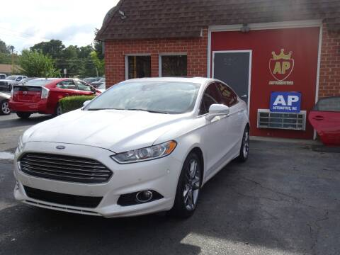 2013 Ford Fusion for sale at AP Automotive in Cary NC