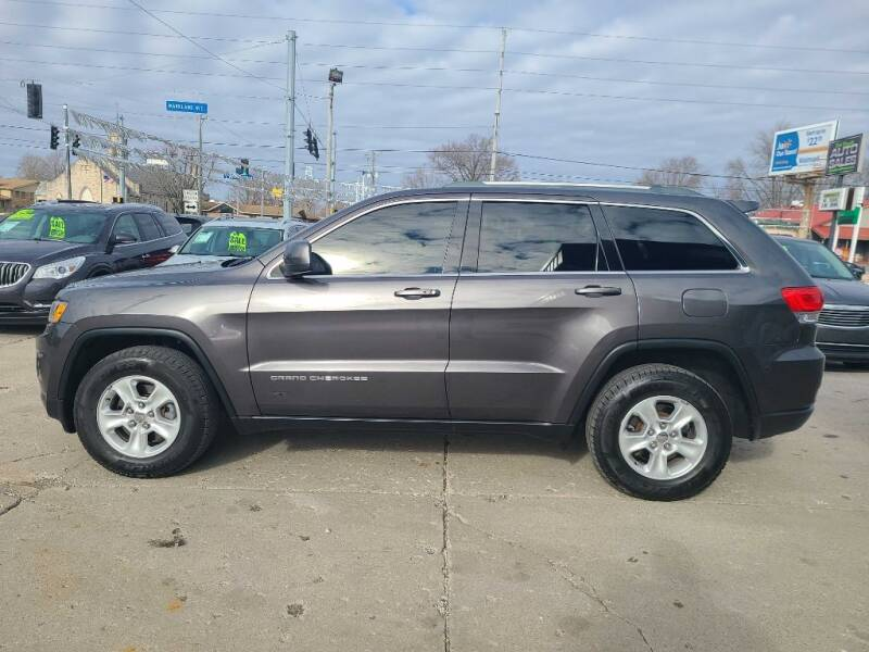 2014 Jeep Grand Cherokee for sale at Bob Boruff Auto Sales in Kokomo IN