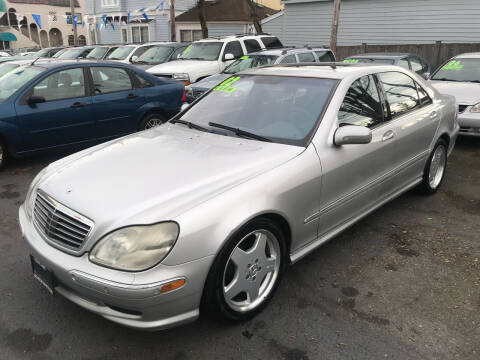 2002 Mercedes-Benz S-Class for sale at American Dream Motors in Everett WA