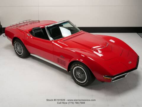 1971 Chevrolet Corvette for sale at Sierra Classics & Imports in Reno NV